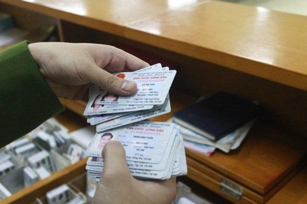 thủ tục cấp thẻ căn cước công dân